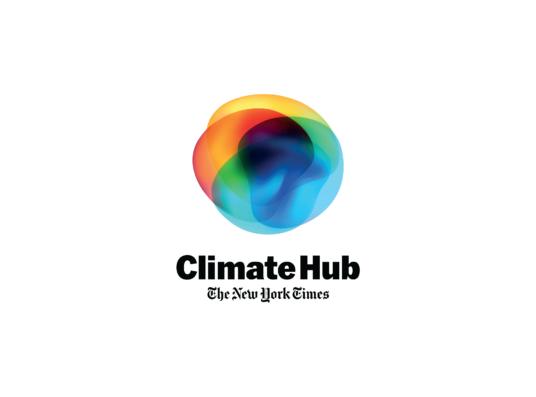 The New York Times Climate Hub log